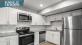 Renovated kitchens at Royal Isles Apartment Homes